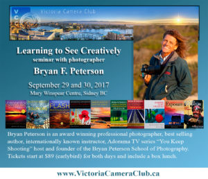 Bryan F. Peterson in Victoria @ Mary Winspear Centre | Sidney | British Columbia | Canada