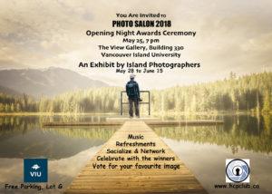 Photo Salon 2018 @ The View Gallery, Vancouver Island University | Nanaimo | British Columbia | Canada