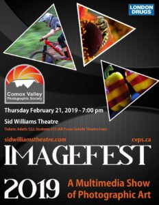 Imagefest 2019 @ Sid Williams Theatre